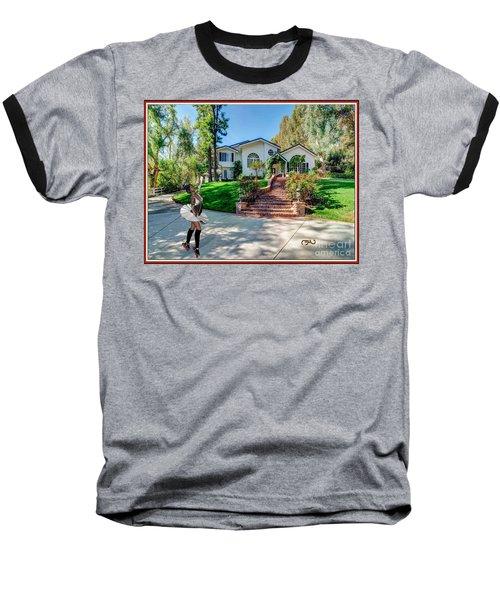 Ballet On Skates 12bos1 Baseball T-Shirt