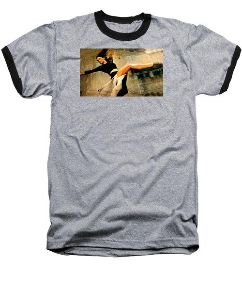 Ballet Windows Baseball T-Shirt by Diana Angstadt