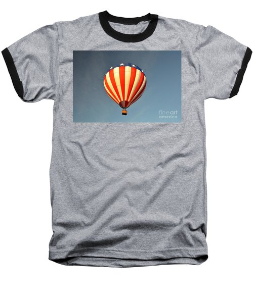 Baseball T-Shirt featuring the photograph Ballons Over Tampa by John Black