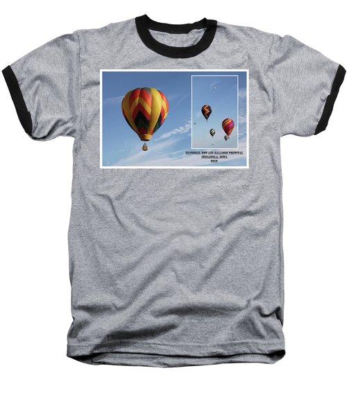 Balloon Festival Indianola, Iowa Baseball T-Shirt