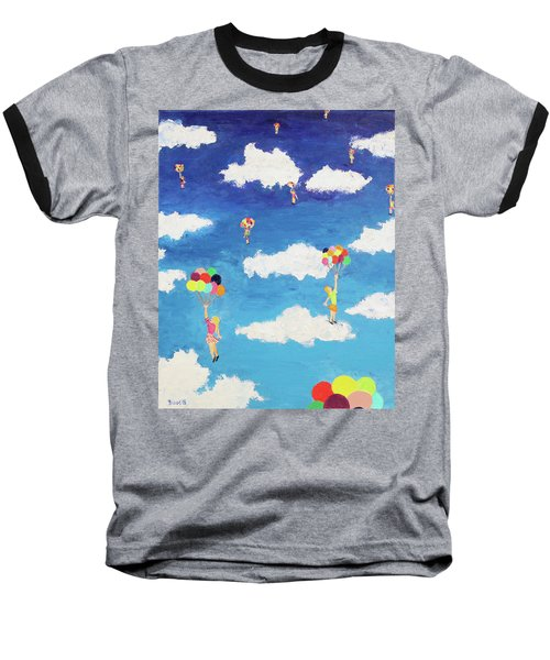 Balloon Girls Baseball T-Shirt