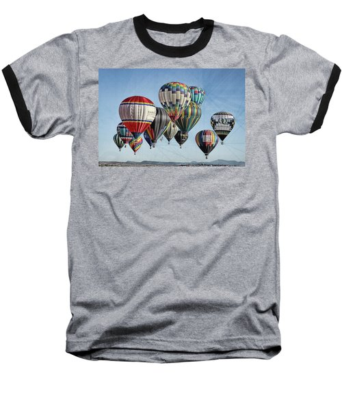 Baseball T-Shirt featuring the photograph Ballooning by Marie Leslie