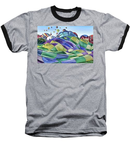 Baseball T-Shirt featuring the photograph Ballooning Waves by Marie Leslie