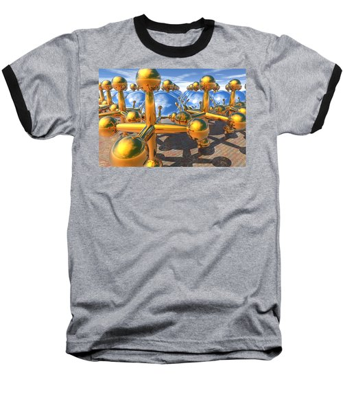 Balls And Jacks II Baseball T-Shirt