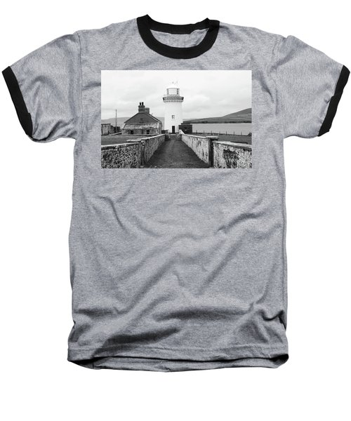 Ballyglass Lighthouse Mono Baseball T-Shirt