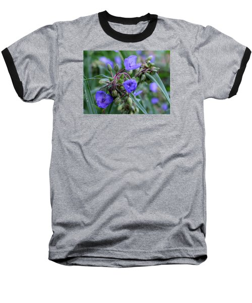 Baseball T-Shirt featuring the photograph Balmy Blue by Michiale Schneider