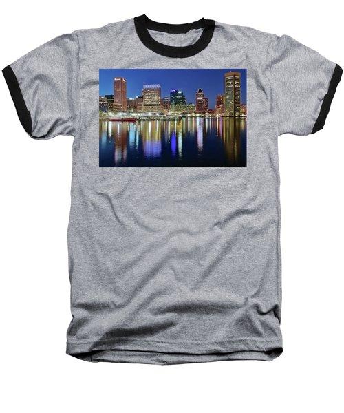 Baltimore Blue Hour Baseball T-Shirt