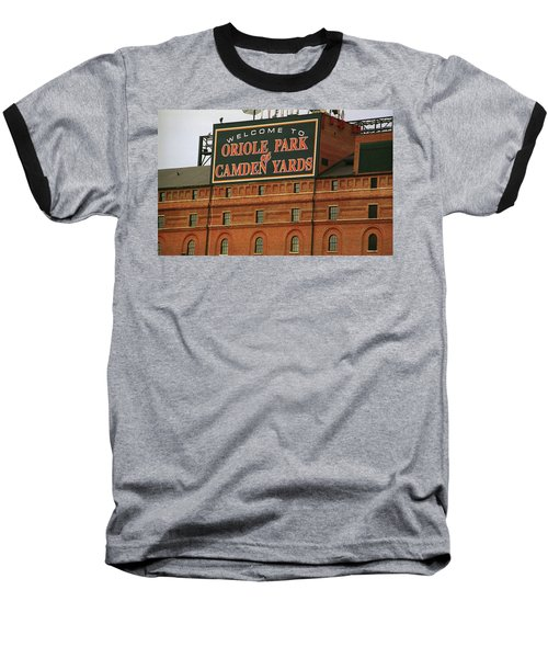 Baltimore Orioles Park At Camden Yards Baseball T-Shirt