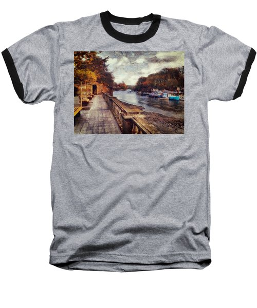 Balustrades And Boats Baseball T-Shirt
