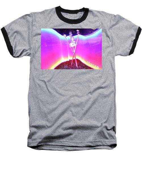 Bamboo And Stones Baseball T-Shirt
