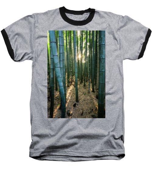 Bamboo Forest At Arashiyama Baseball T-Shirt