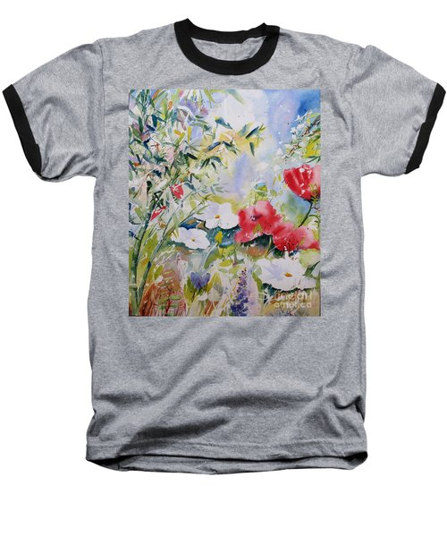 Bamboo Forest Baseball T-Shirt