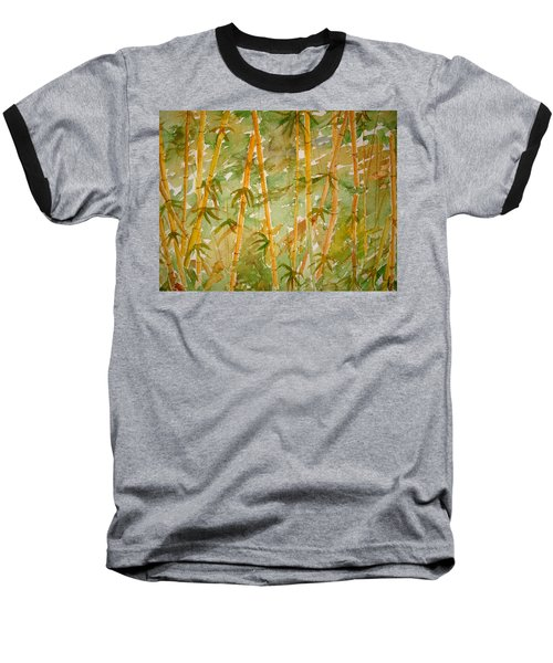 Bamboo Jungle Baseball T-Shirt