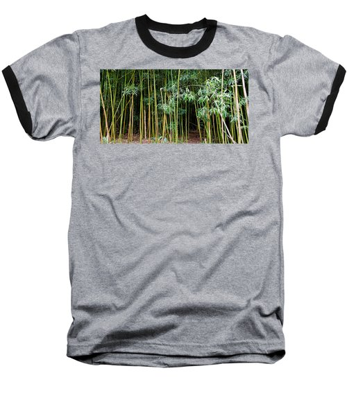 Bamboo Wind Chimes  Waimoku Falls Trail  Hana  Maui Hawaii Baseball T-Shirt