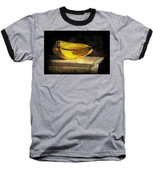 Baseball T-Shirt featuring the photograph Bananas Pedestal by Diana Angstadt