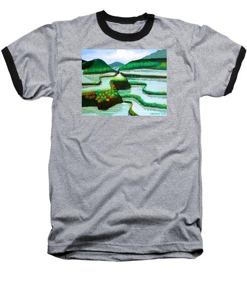Banaue Baseball T-Shirt by Cyril Maza