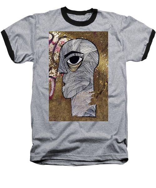 Bandage Man Baseball T-Shirt