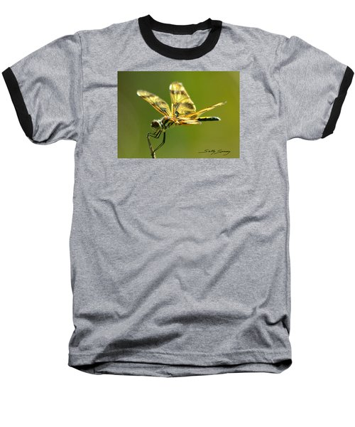 Banded Pennant, Female Baseball T-Shirt