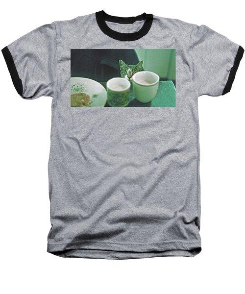 Bandit Baseball T-Shirt by Laurie Stewart