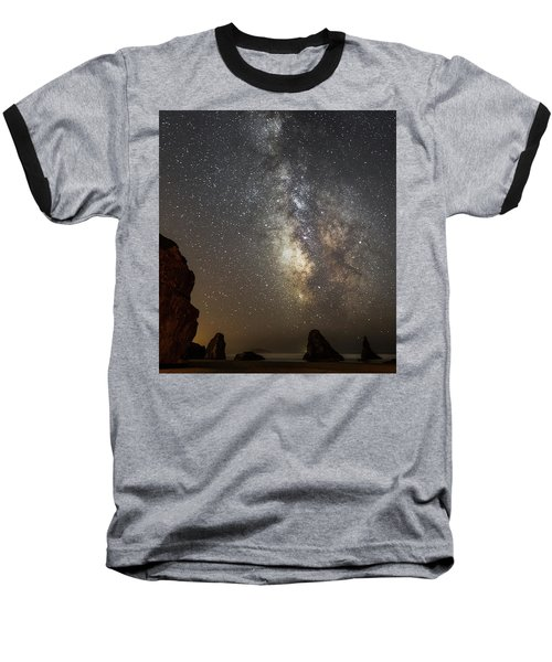 Bandon And Milky Way Baseball T-Shirt