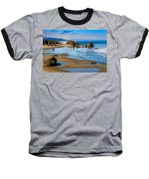 Bandon Beach Baseball T-Shirt