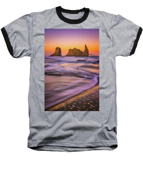 Baseball T-Shirt featuring the photograph Bandon's Breath by Darren White