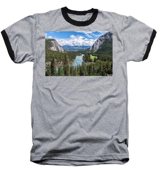 Banff - Golf Course Baseball T-Shirt