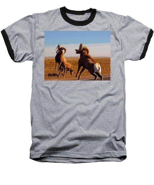 Bang Of The Bighorn Baseball T-Shirt
