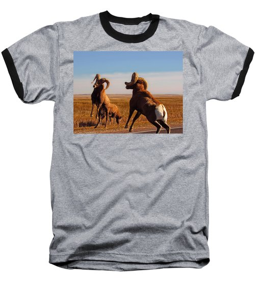 Bang Of The Bighorn Baseball T-Shirt