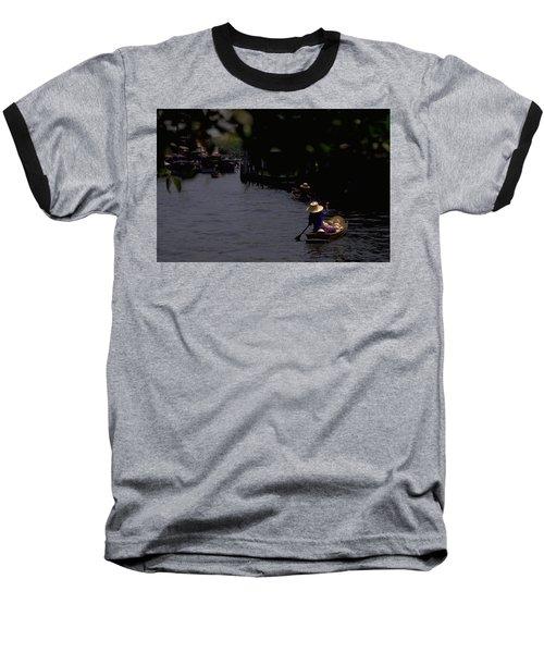 Bangkok Floating Market Baseball T-Shirt