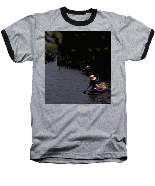 Bangkok Floating Market Baseball T-Shirt