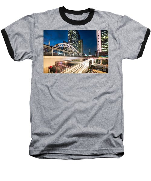 Bangkok Night Rush  Baseball T-Shirt