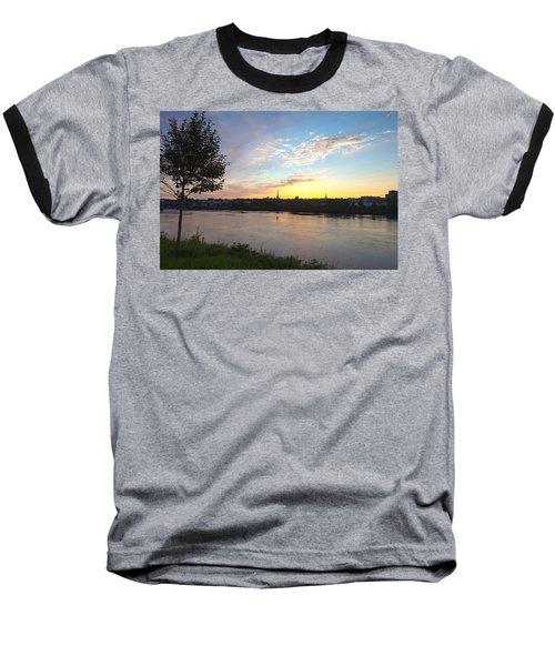 Bangor Sunset Baseball T-Shirt
