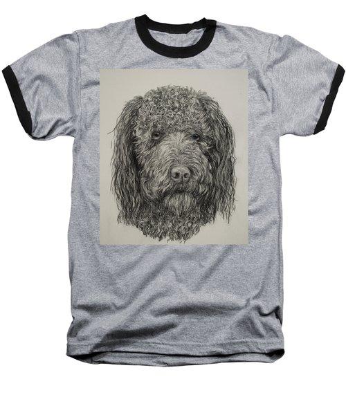 Banjo Labradoodle Baseball T-Shirt