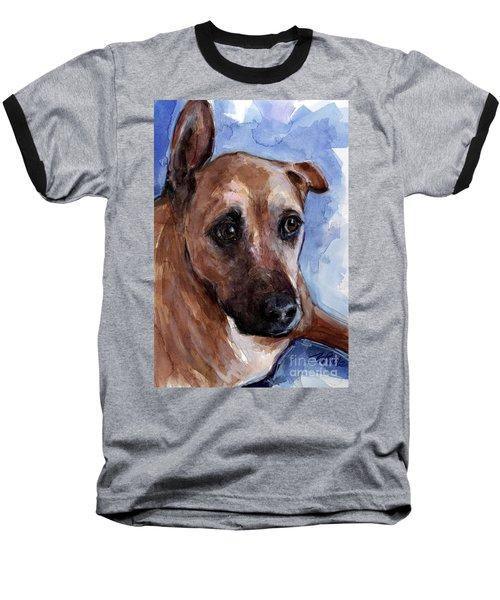 Banks Baseball T-Shirt by Molly Poole
