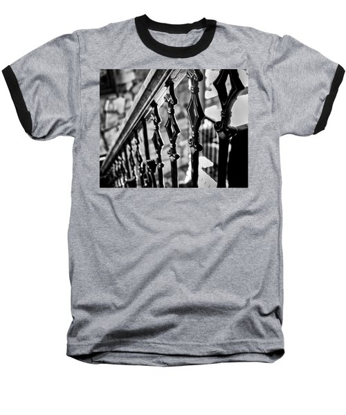 Bannister B_w Baseball T-Shirt by John McArthur