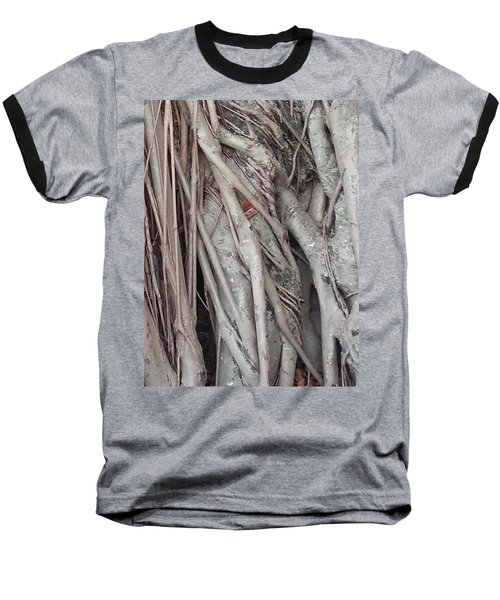 Banyan In Maui Baseball T-Shirt