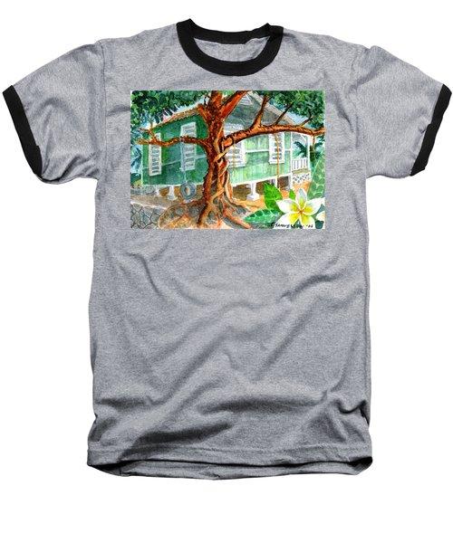 Banyan In The Backyard Baseball T-Shirt