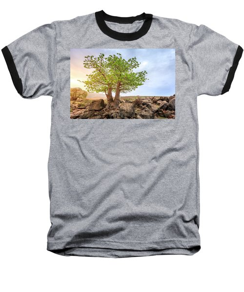 Baseball T-Shirt featuring the photograph Baobab Tree by Alexey Stiop
