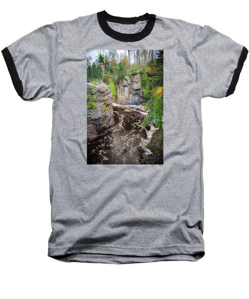 Baptism River In Tettegouche State Park Mn Baseball T-Shirt
