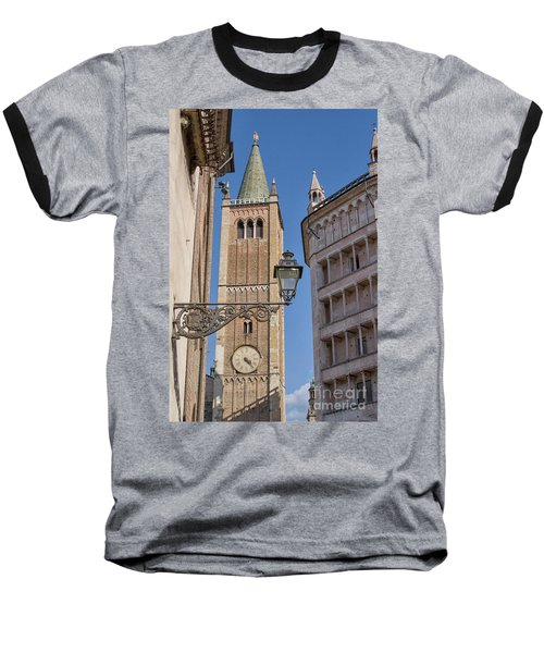 Baptistery And Cathedral In Parma Baseball T-Shirt