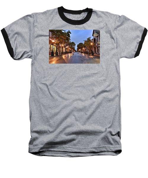 Bar Harbor - Maine Baseball T-Shirt by Brendan Reals