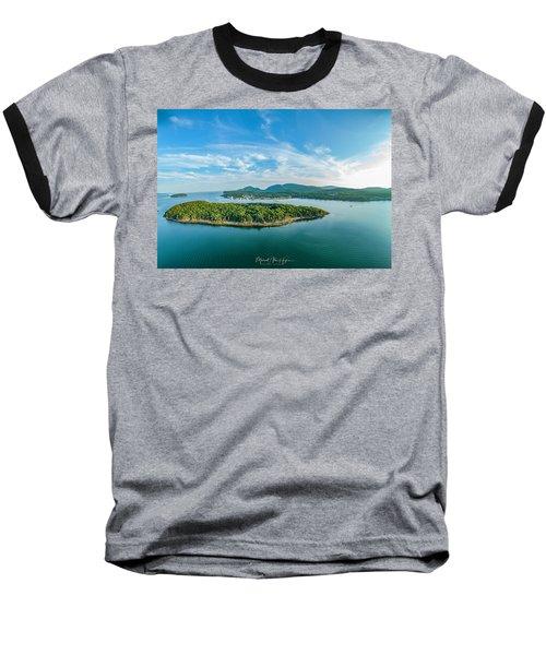 Bar Island, Bar Harbor  Baseball T-Shirt
