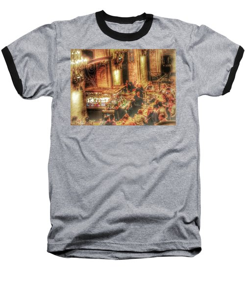 Bar Scene Baseball T-Shirt