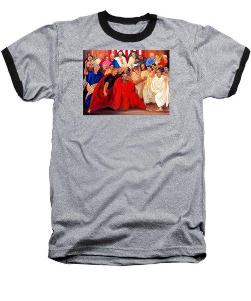 Barack Obama And Friends Baseball T-Shirt
