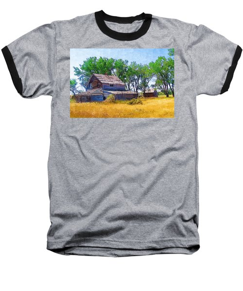 Baseball T-Shirt featuring the photograph Barber Homestead by Susan Kinney