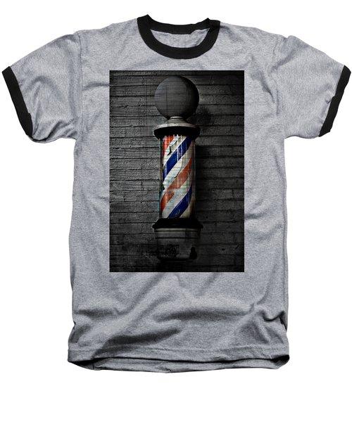 Barber Pole Blues  Baseball T-Shirt