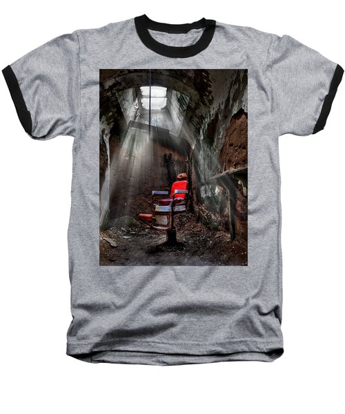 Barber Shop Baseball T-Shirt