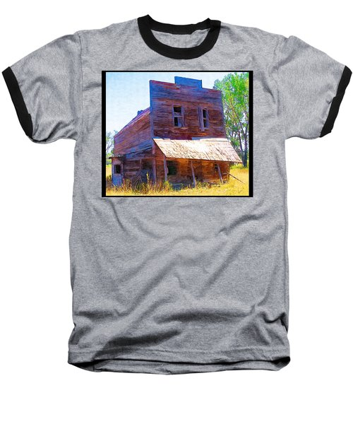 Baseball T-Shirt featuring the photograph Barber Store by Susan Kinney