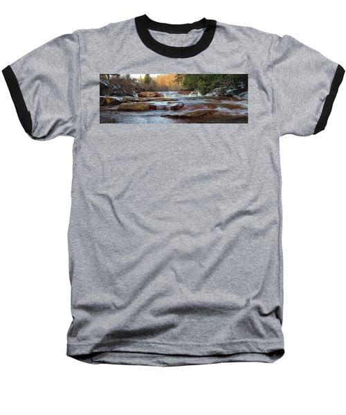 Barbershop Falls Wv In Winter Baseball T-Shirt